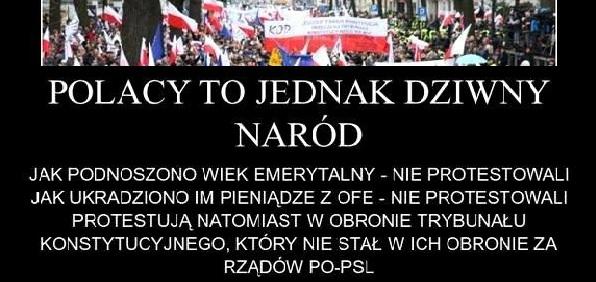 Polacy to dziwny naród