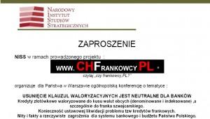 Zaproszenie CHFrankowicze