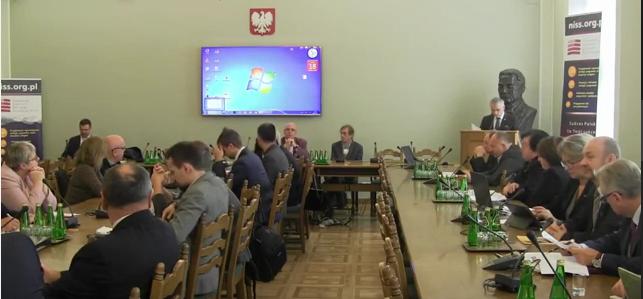 Konferencja NISS Sejm