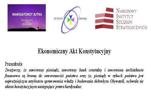 Ekonomiczny akt konstytucyjny