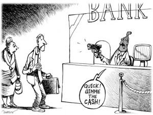 Bank zlodziej